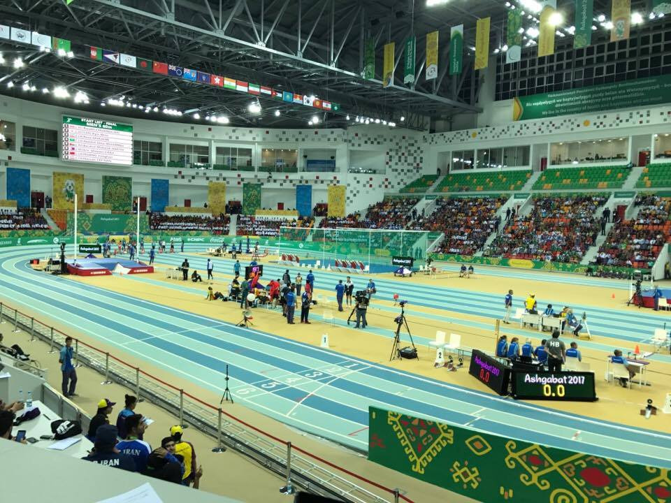 A second of three days of indoor athletics competition took place today ©ITG