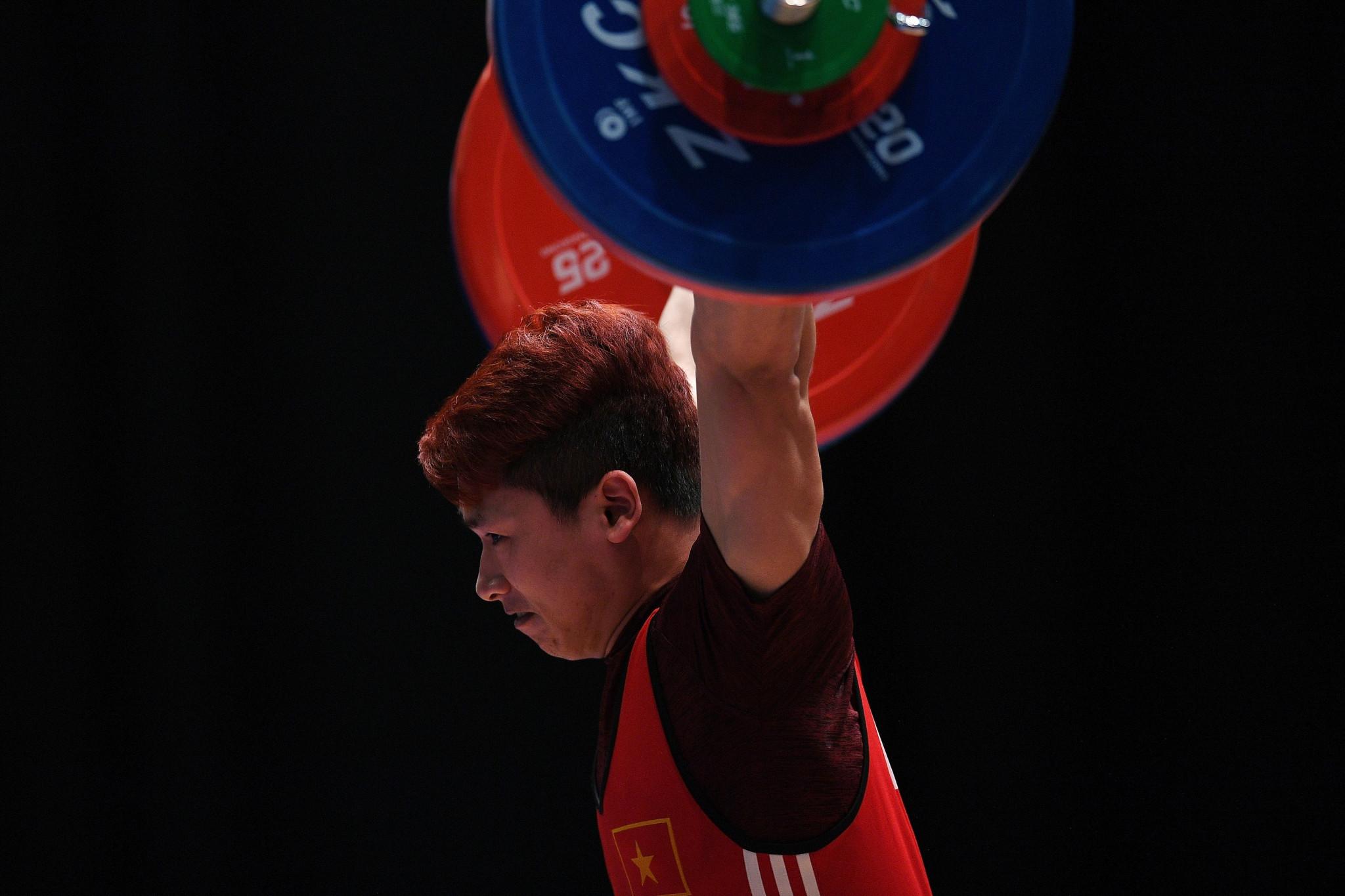 Vietnam's Trinh Van Vinh won the men's 62kg gold medal ©Getty Images