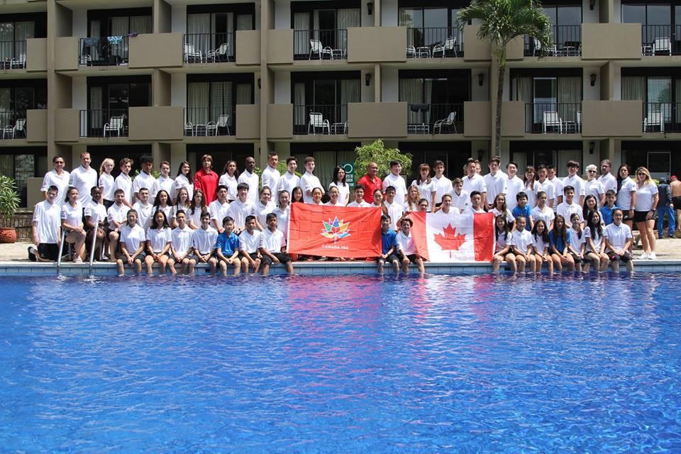 Canada enjoyed a good tournament in Costa Rica ©Taekwondo Canada