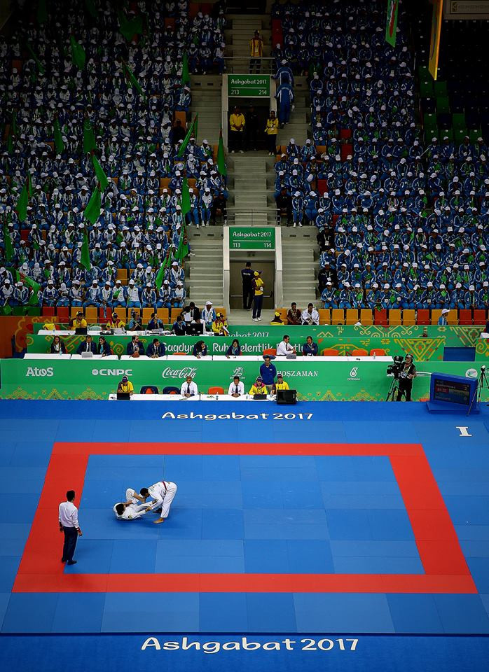 Ju-Jitsu competition concluded today ©Ashgabat 2017