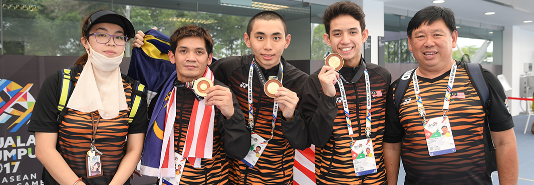 Hosts enjoy swimming success at ASEAN Para Games in Kuala Lumpur