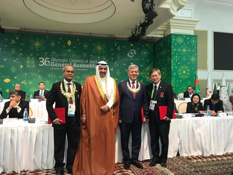 Syrian Olympic Committee President among three recipients of OCA Merit Awards