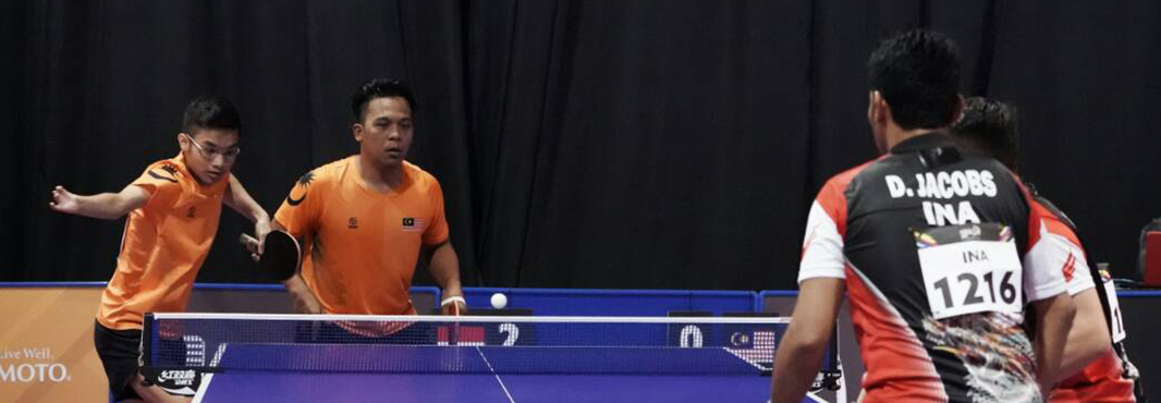 Indonesia earn hat-trick of table tennis titles at ASEAN Para Games