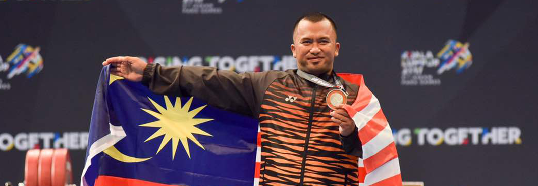 Table tennis and powerlifting were among the events continuing today ©Kuala Lumpur 2017