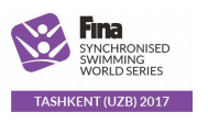Inaugural FINA Synchronised Swimming World Series to conclude in Tashkent