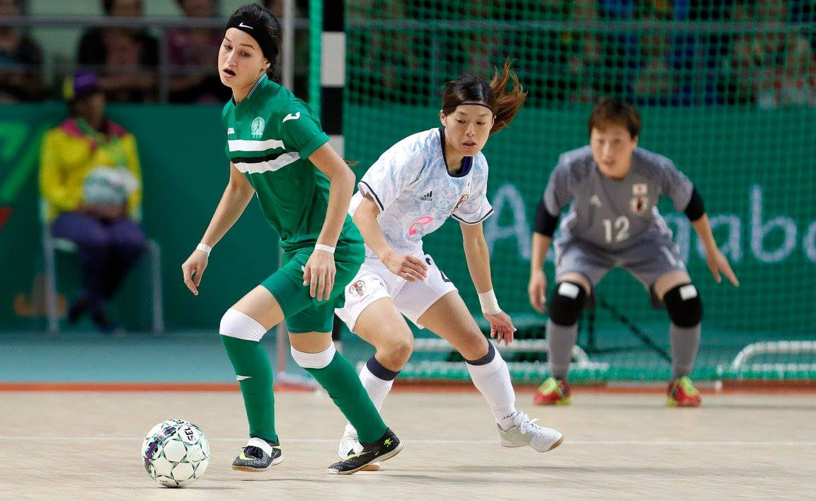 Turkmenistan faced Japan in futsal today as sporting action continued ©Ashgabat 2017