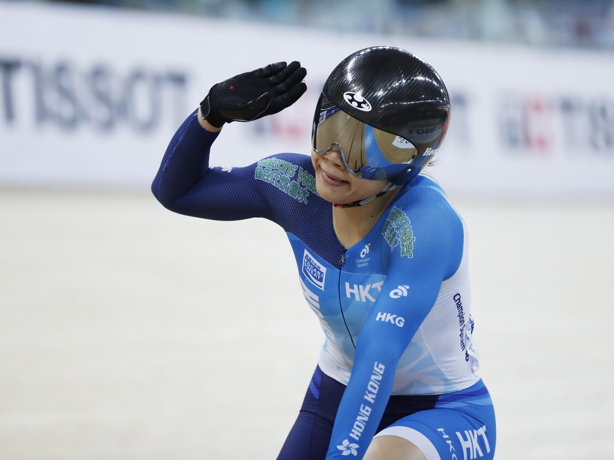 Hong Kong's Lee Wai Sze claimed the women's sprint title on the third day of Ashgabat 2017 track cycling competition ©Getty Images