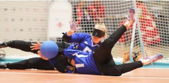 The semi-final line-up was completed at the International Blind Sports Federation Goalball European Championships today ©Pajulahti 2017
