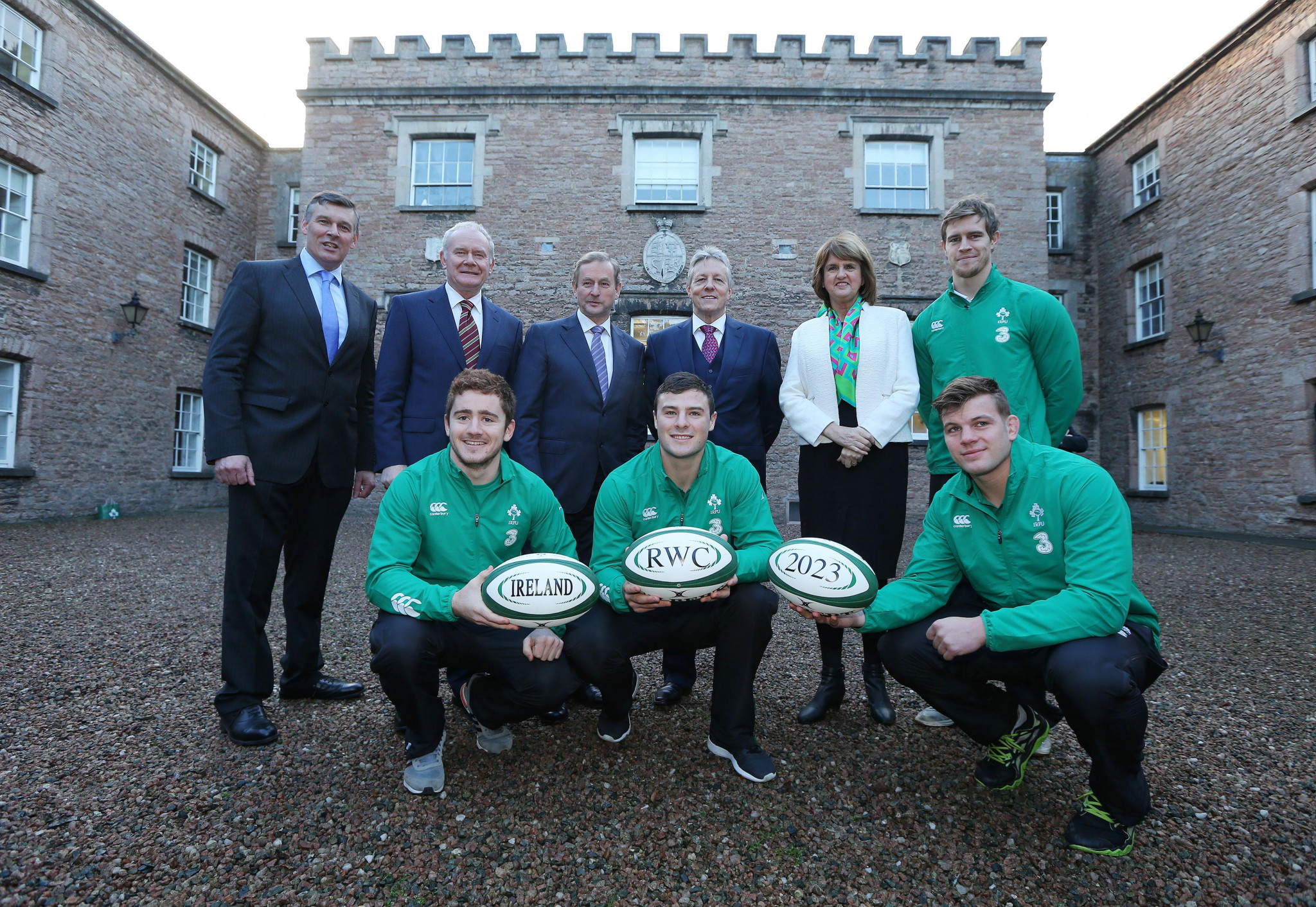 "Ireland confident promise for ""tournament like no other"" can secure 2023 Rugby World Cup"