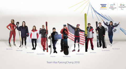 Team Visa line-up confirmed for Pyeongchang 2018