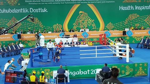 Thailand claim half of available muaythai gold medals at Ashgabat 2017