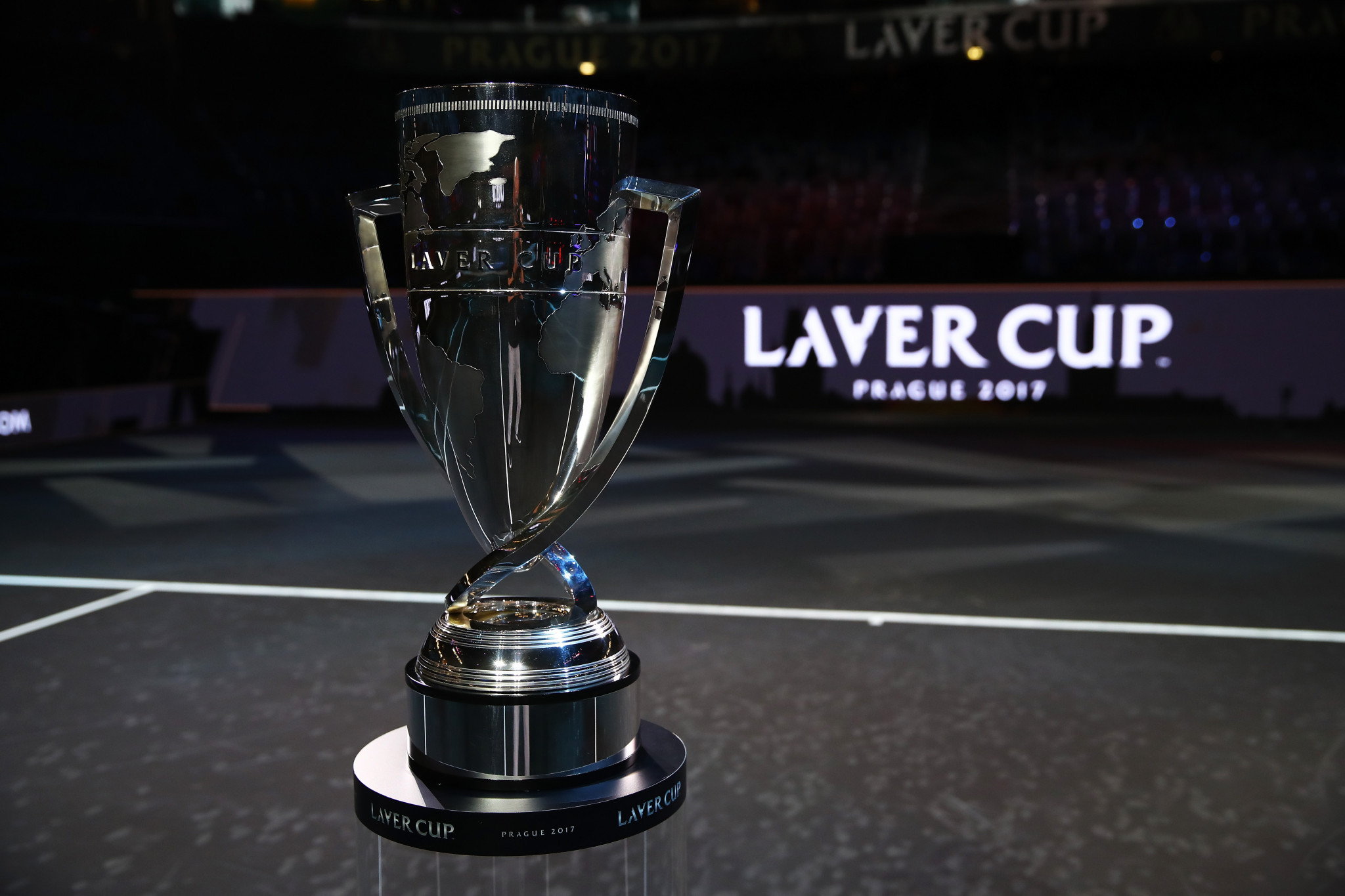 Tennis stars gather in Prague for inaugural Laver Cup