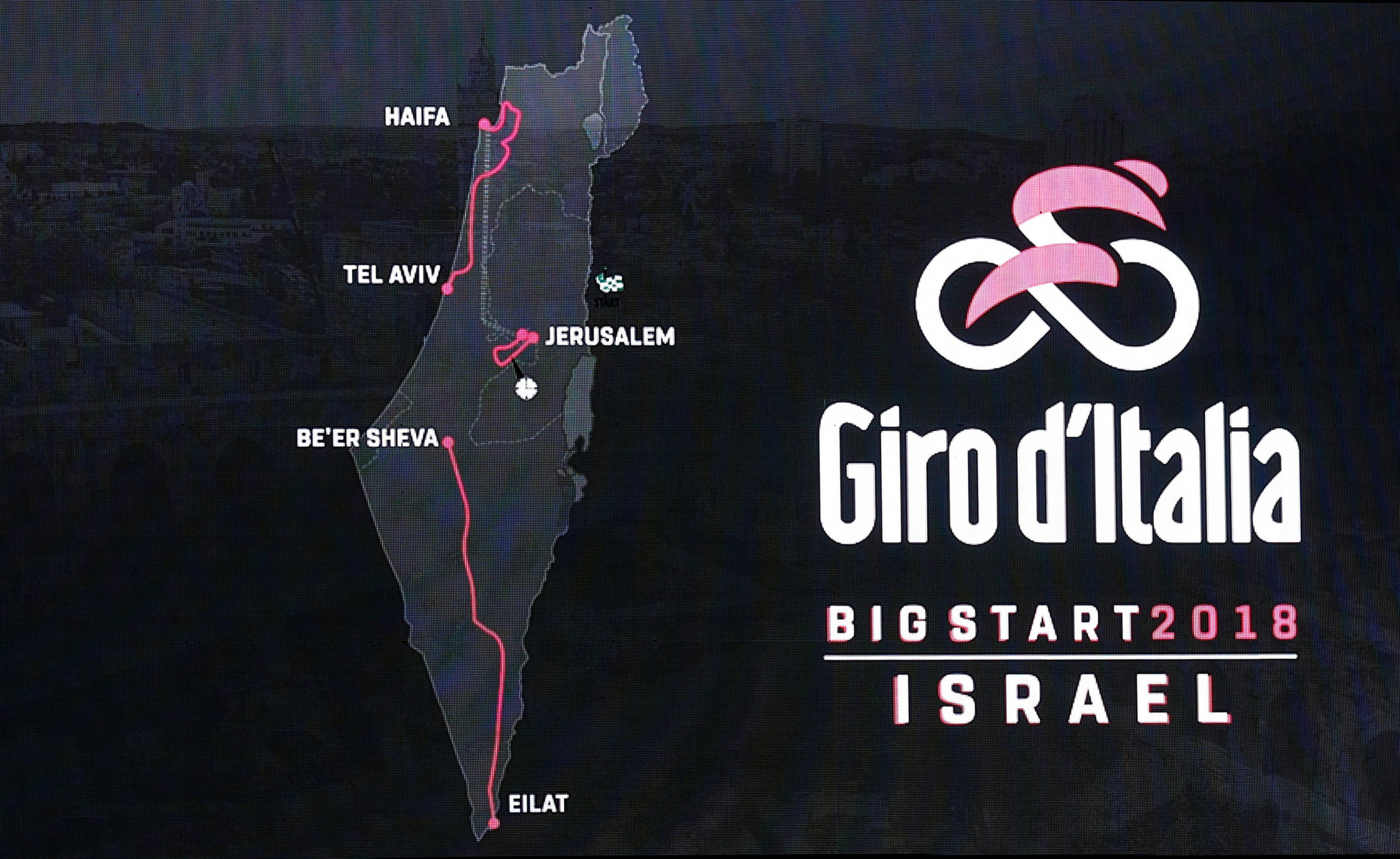 Giro d'Italia to begin in Jerusalem in 2018
