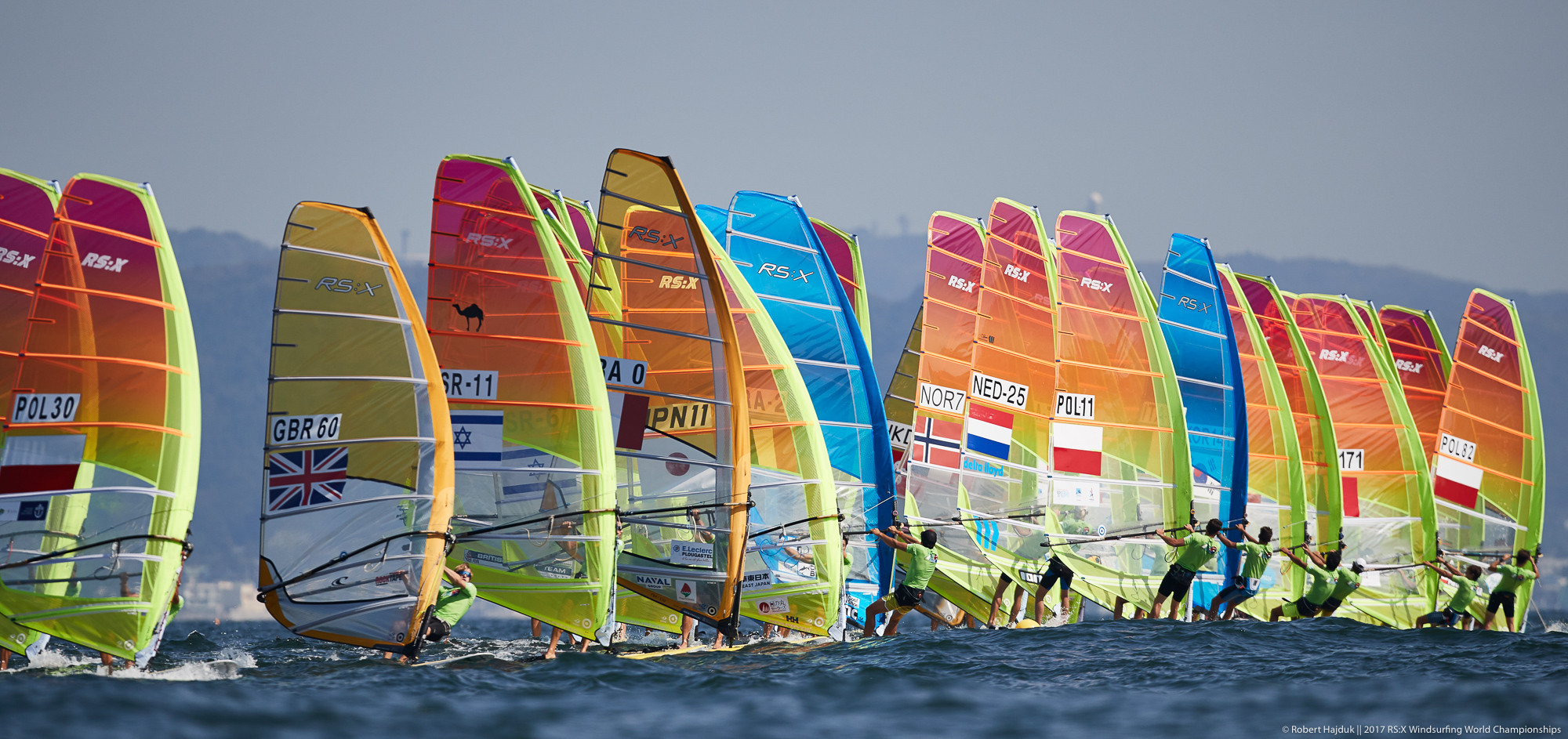 Change at the top in both competitions at RS:X Windsurfing World Championships
