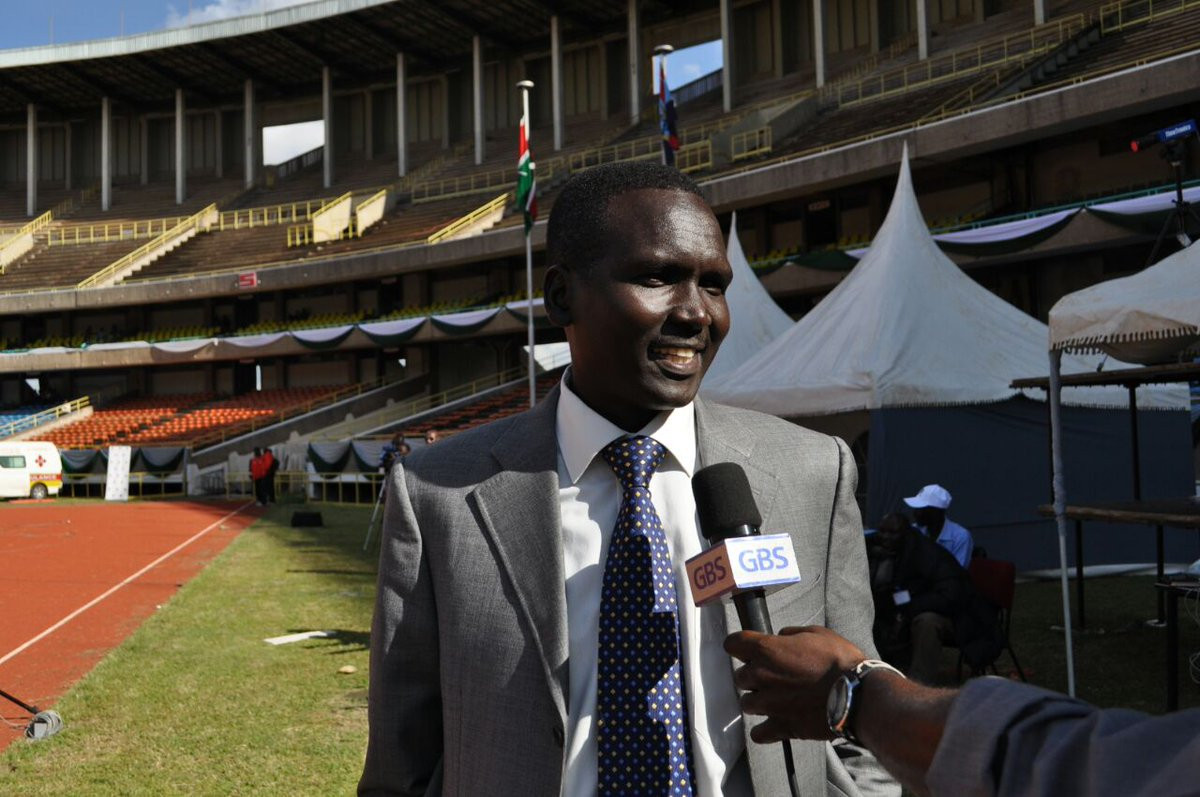 Former world marathon record holder Paul Tergat is the favourite to replace Kipchoge Keino as chairman of the National Olympic Committee of Kenya at elections on September 29 ©Twitter