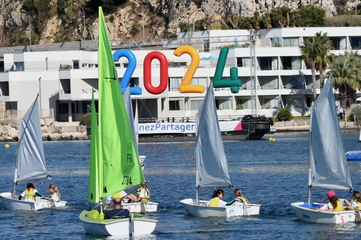 Marseille is poised to host sailing competition during the 2024 Olympic Games ©Paris 2024