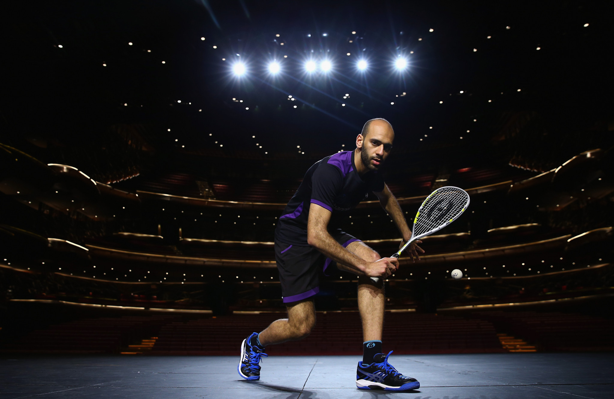 Marwan Elshorbagy is involved in the pick of the first round ties ©Getty Images