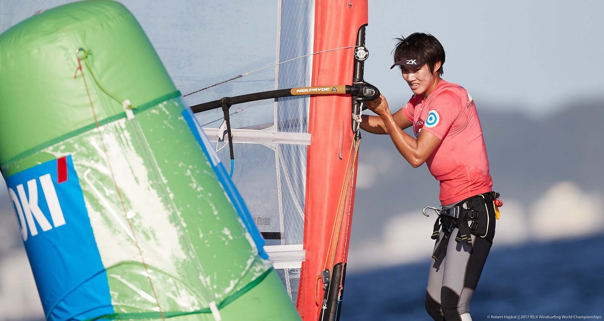 Chen poised for gold at RS:X Windsurfing World Championships as Ye and Sanz Lanz contest men's title