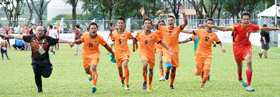 Indonesia surprise Thailand to secure seven-a-side football gold at ASEAN Para Games