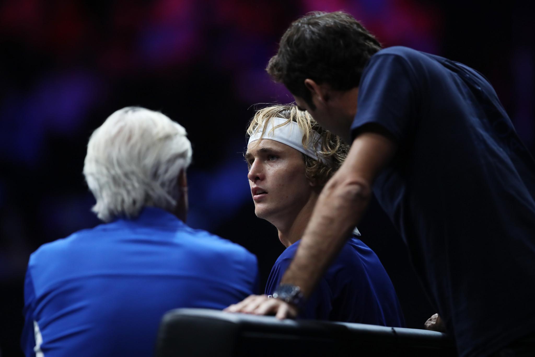 Borg's Europe leads after first day of inaugural Laver Cup