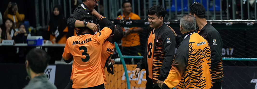 Malaysia end 12-year wait for goalball gold as ASEAN Para Games come to an end