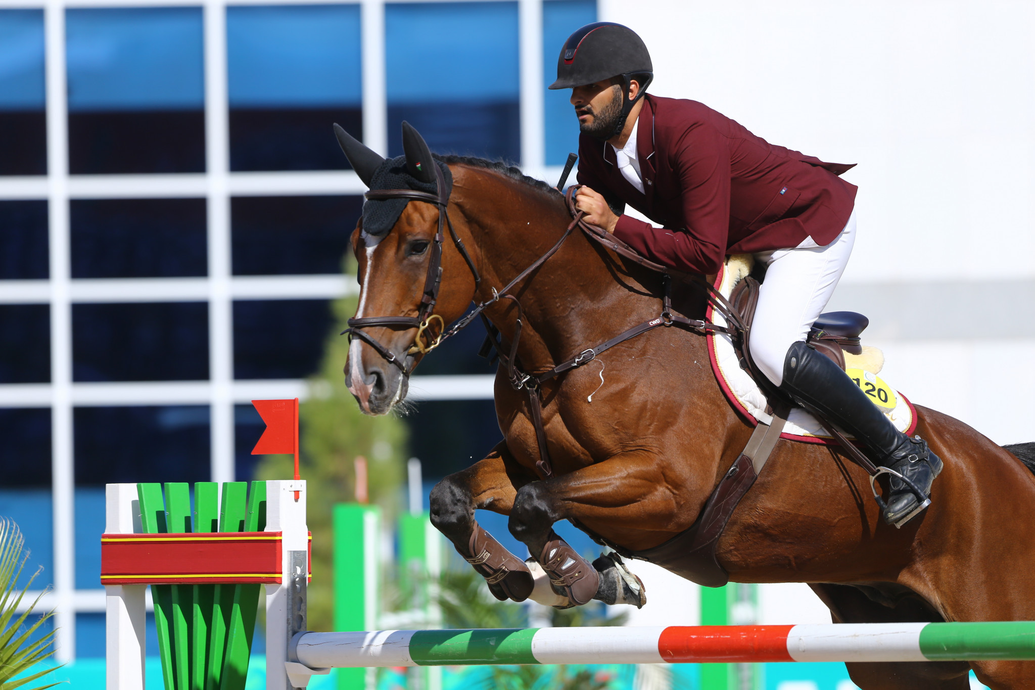 Qatari clinches individual jumping crown on final day of Ashgabat 2017 equestrian action