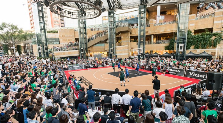 Tokyo given flavour of 3x3 basketball by hosting Japanese professional league final