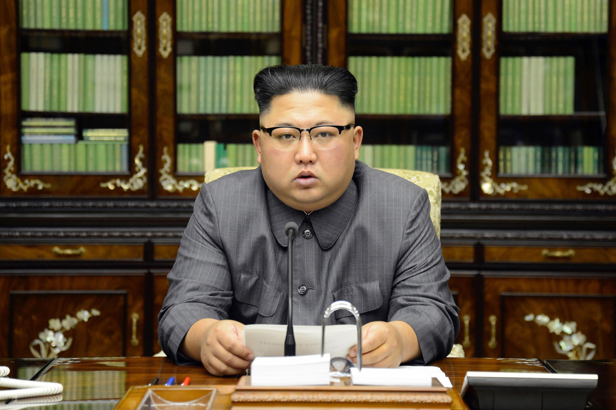 Relations between the United States and North Korea are at an all-time low following a series of insults traded between Donald Trump and Kim Jong Un ©Getty Images
