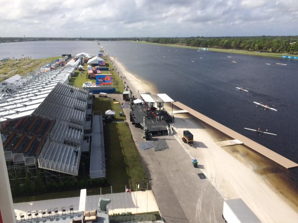 The course for the 2017 World Rowing Championships at Nathan Benderson Park is ready ©Sarasota-Bradenton 2017
