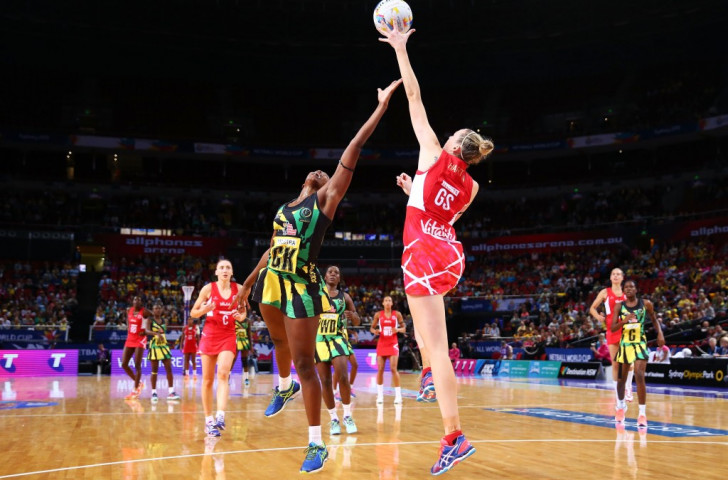 England edge Jamaica with thrilling win to maintain 100 per cent start to Netball World Cup