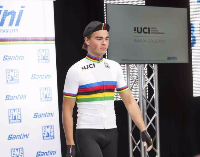 Santini unveil 2018 UCI rainbow collection at Road World Championships