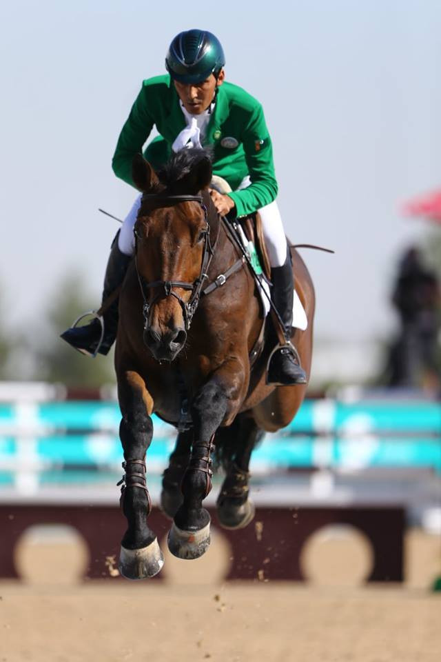 Equestrian jumping competition reached its conclusion today with the final of the individual event ©Ashgabat 2017/Facebook