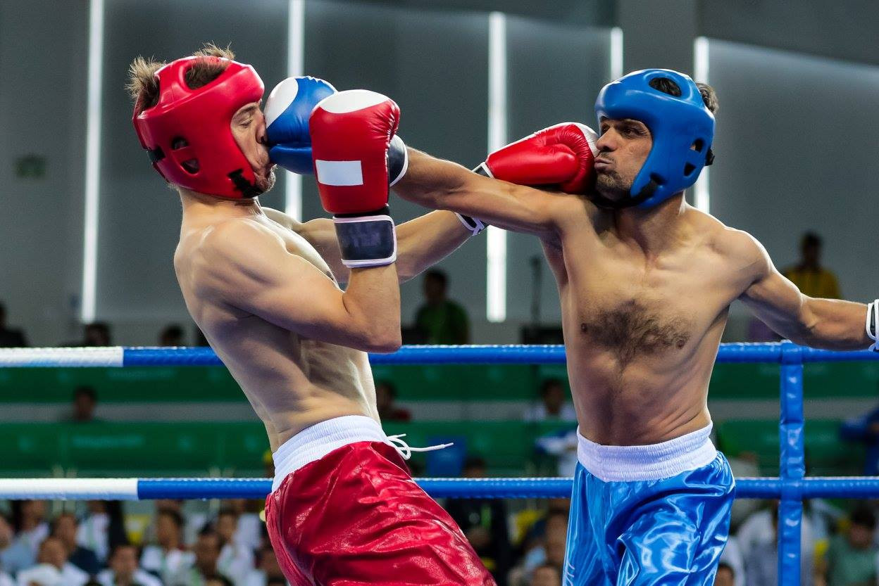 Kickboxing action begun today ©Ashgabat 2017/Facebook