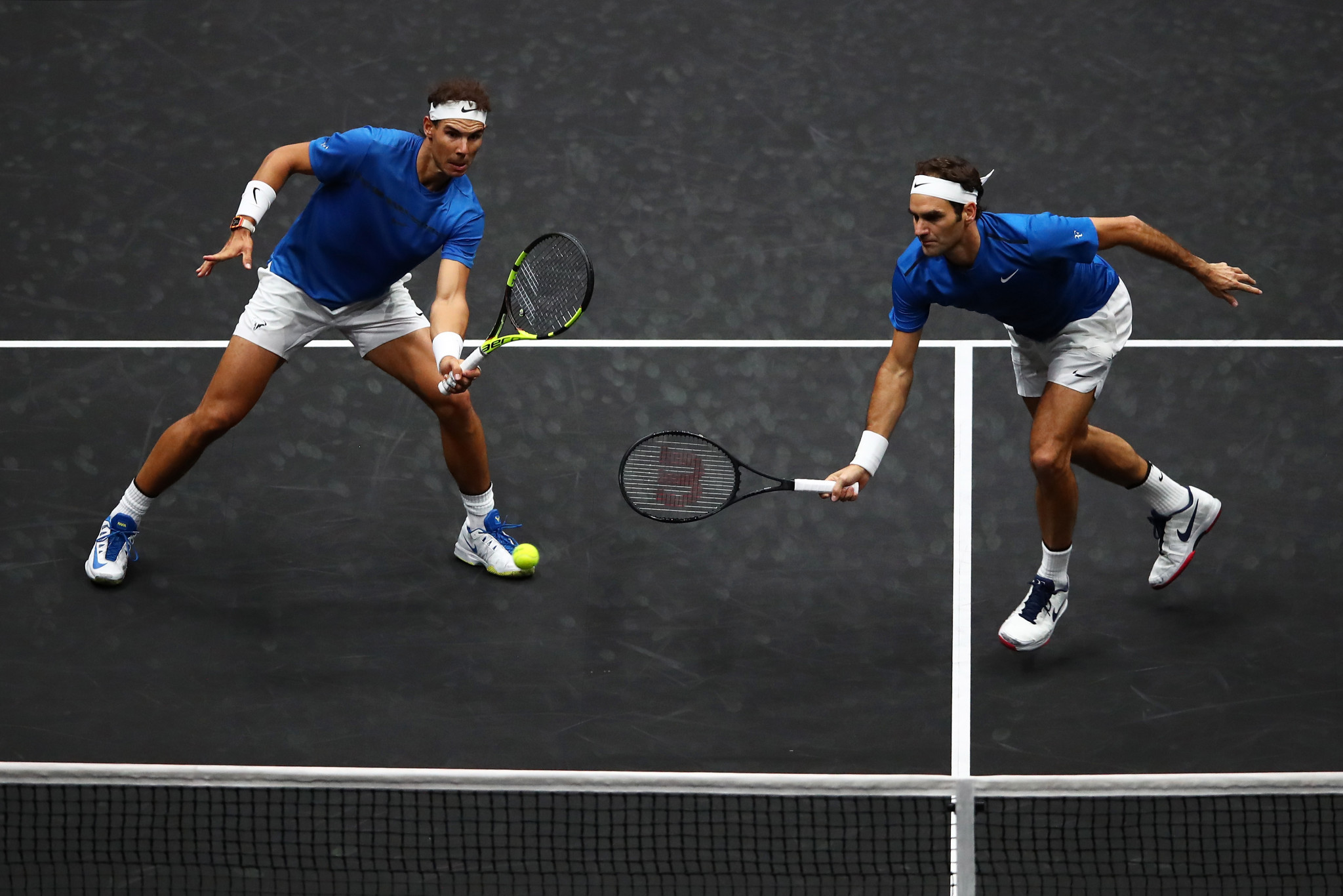 Federer and Nadal combine to take Europe closer to winning first Laver Cup