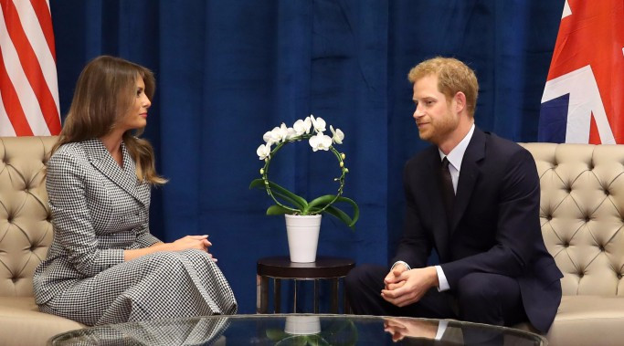 Prince Harry meets First Lady Melania Trump ahead of Invictus Games Opening Ceremony