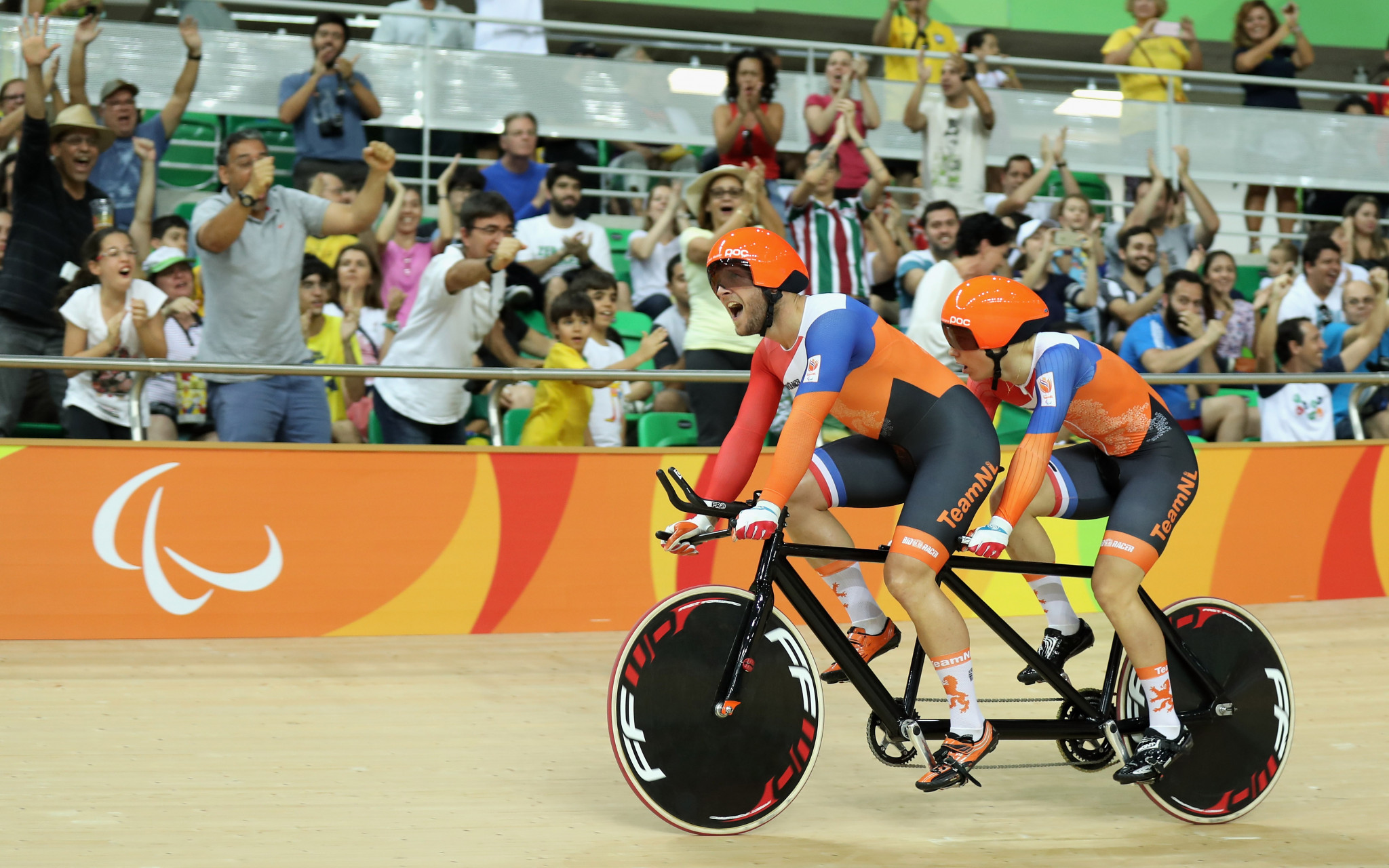 Para-cycling will return to the Rio Olympic velodrome in March ©Getty Images