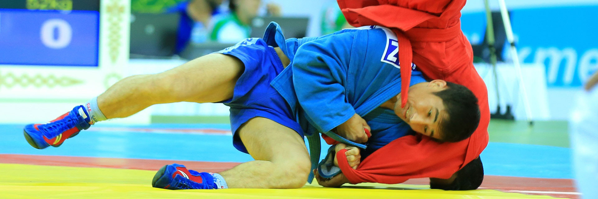 Sambo is featuring on the programme of the ongoing 2017 Asian Indoor and Martial Arts Games in Ashgabat ©Ashgabat 2017