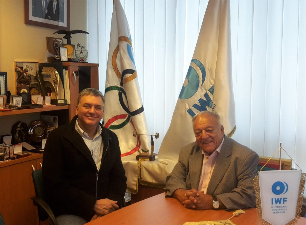 IWF vice president visits Budapest to discuss two Championships