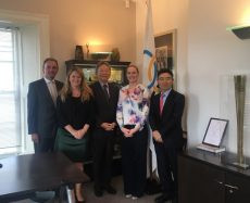 South Korean ambassador visits Olympic Council of Ireland