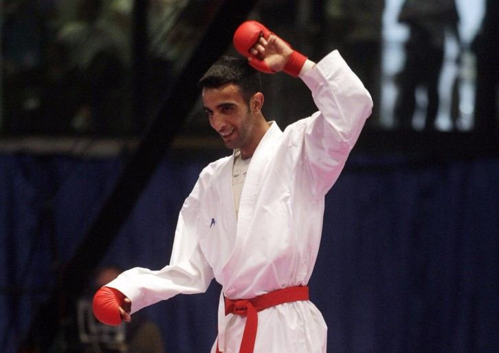 Turkey's Aykut Kaya claimed gold in front of a home crowd ©Getty Images
