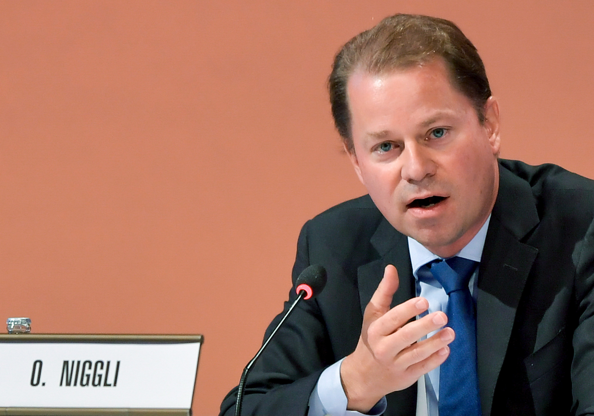 WADA executive director Olivier Niggli claimed  the Russia situation was
