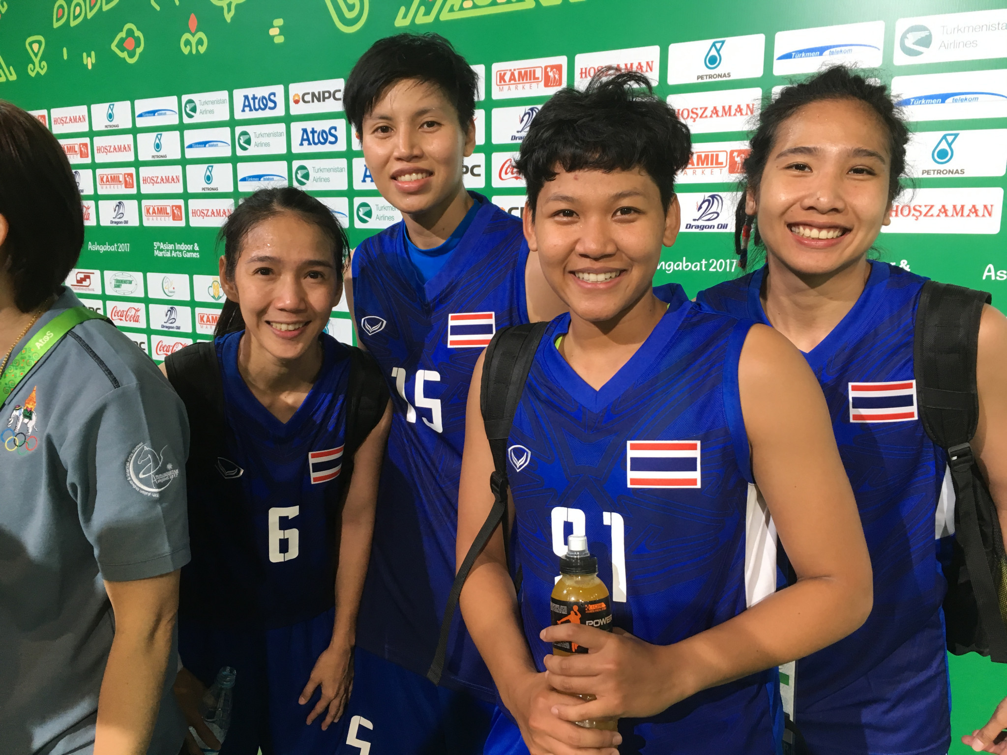 Thailand came out on top in the women's 3x3 basketball event ©Ashgabat 2017/Michael Church