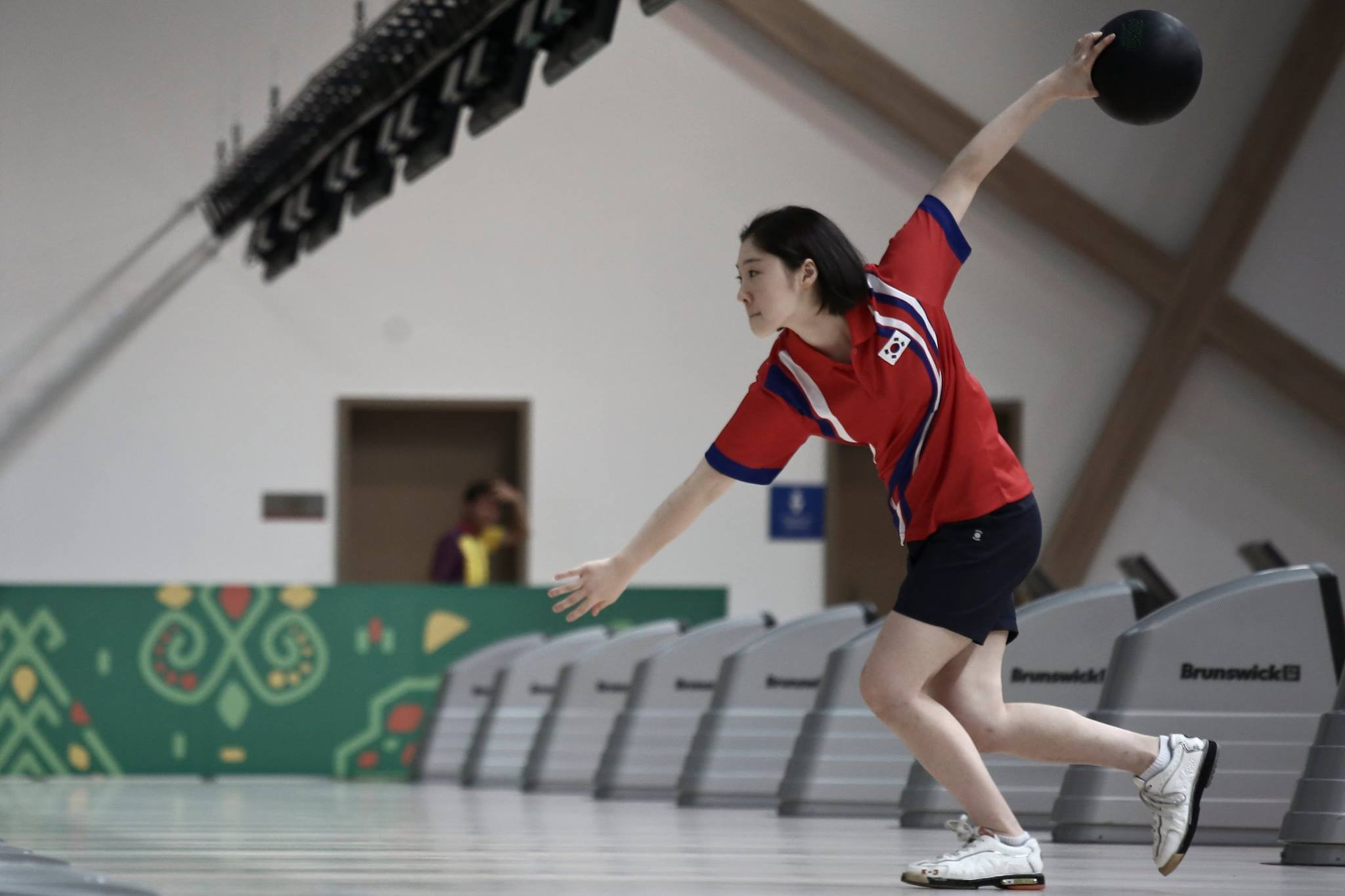 The women's doubles bowling event took place today ©Ashgabat 2017/Facebook