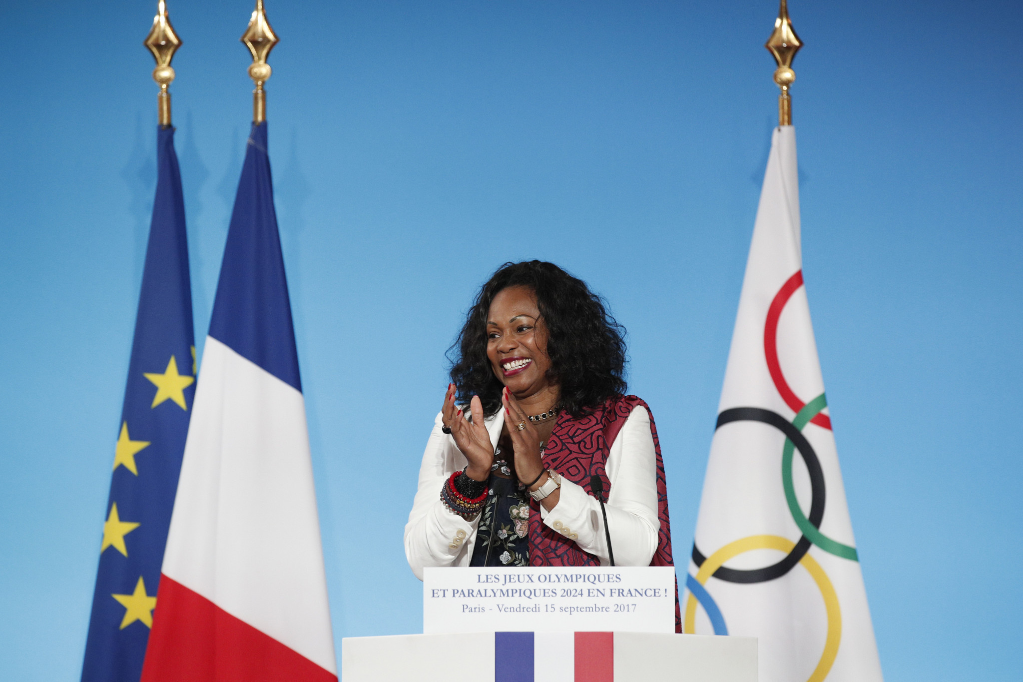 French Sports Minister Laura Flessel had prompted fears countries could miss the Games ©Getty Images