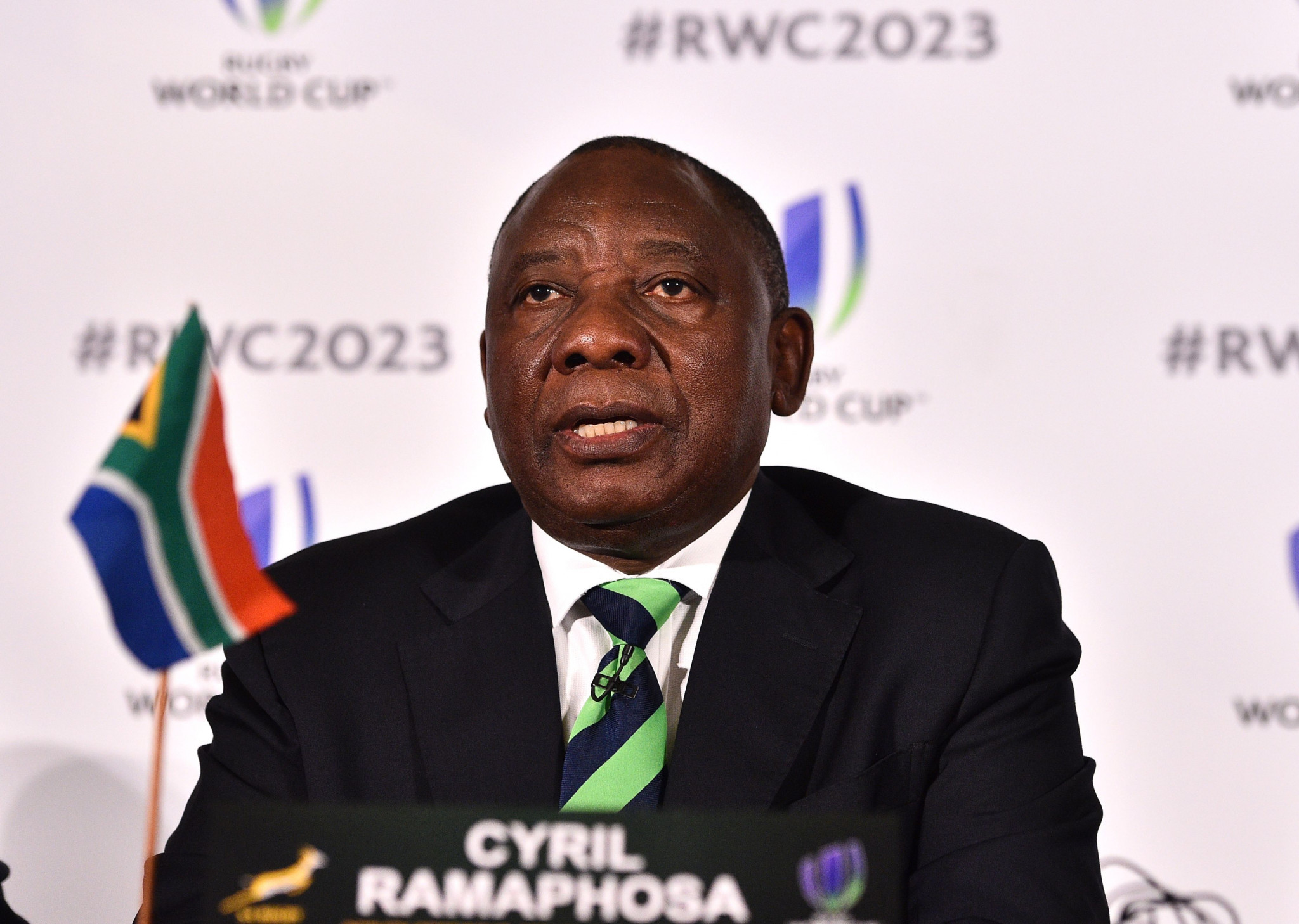 Countries bidding for 2023 Rugby World Cup make presentations