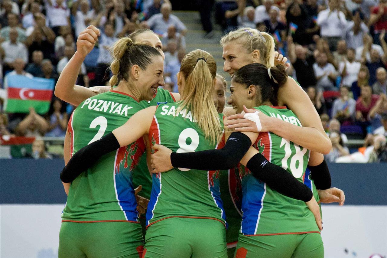 Hosts Azerbaijan book quarter-final berth at Women's European Volleyball Championships