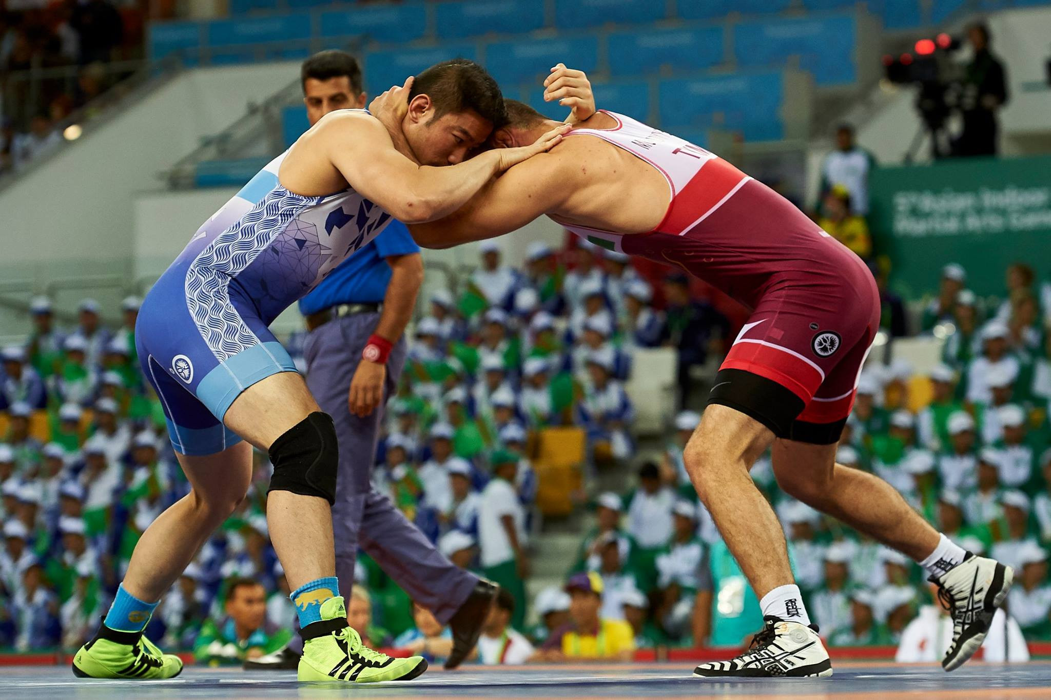 A further eight gold medals were won in wrestling ©Ashgabat 2017/Facebook