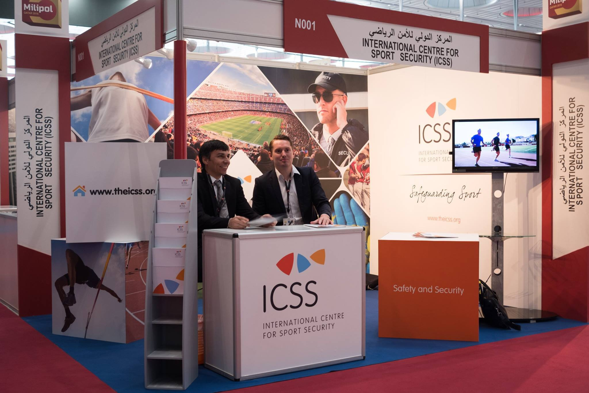 Ty Francis' role with ICSS will be to expand its portfolio of products ©ICSS