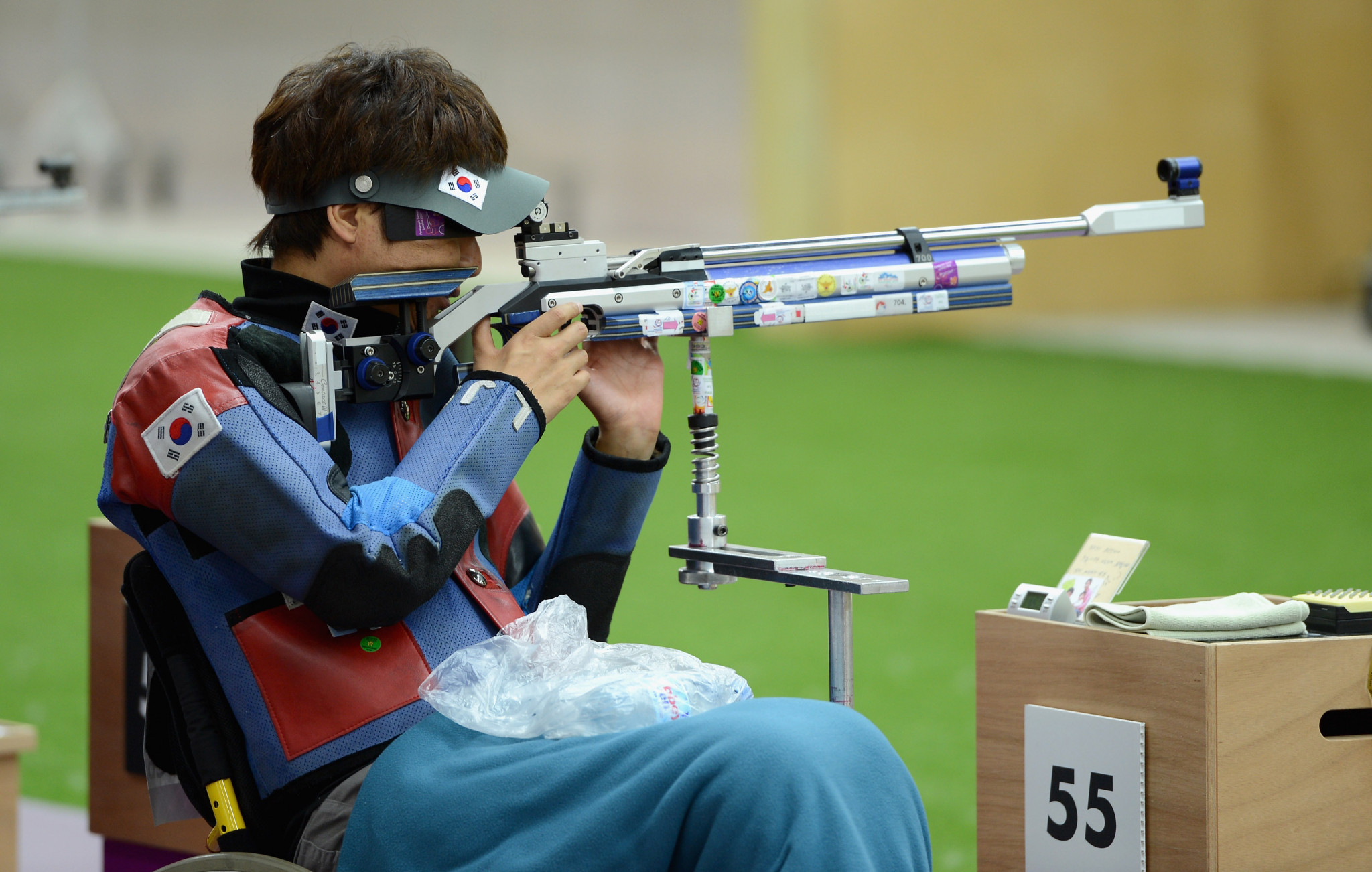 South Korea's Lee wins R4 gold at World Shooting Para Sport World Cup in Osijek
