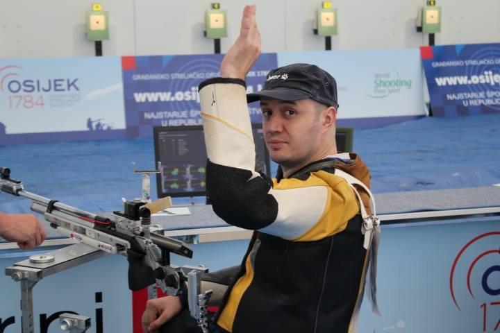 Five medal events were held across the first three days of the World Shooting Para Sport World Cup in Osijek ©World Shooting Para Sport/Facebook